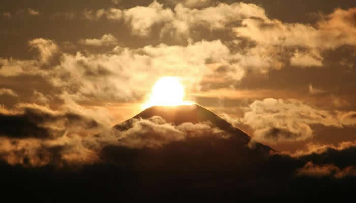 鑽石富士 富士山